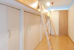 収納&ベッドで3人の個々のスペースが誕生した子ども部屋。