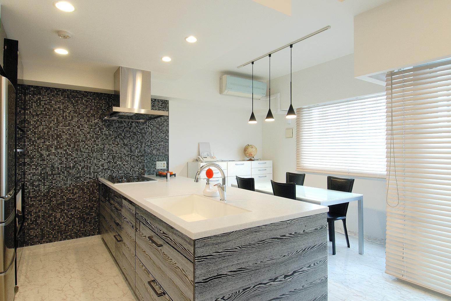美しさと機能性がお気に入りのキッチン。