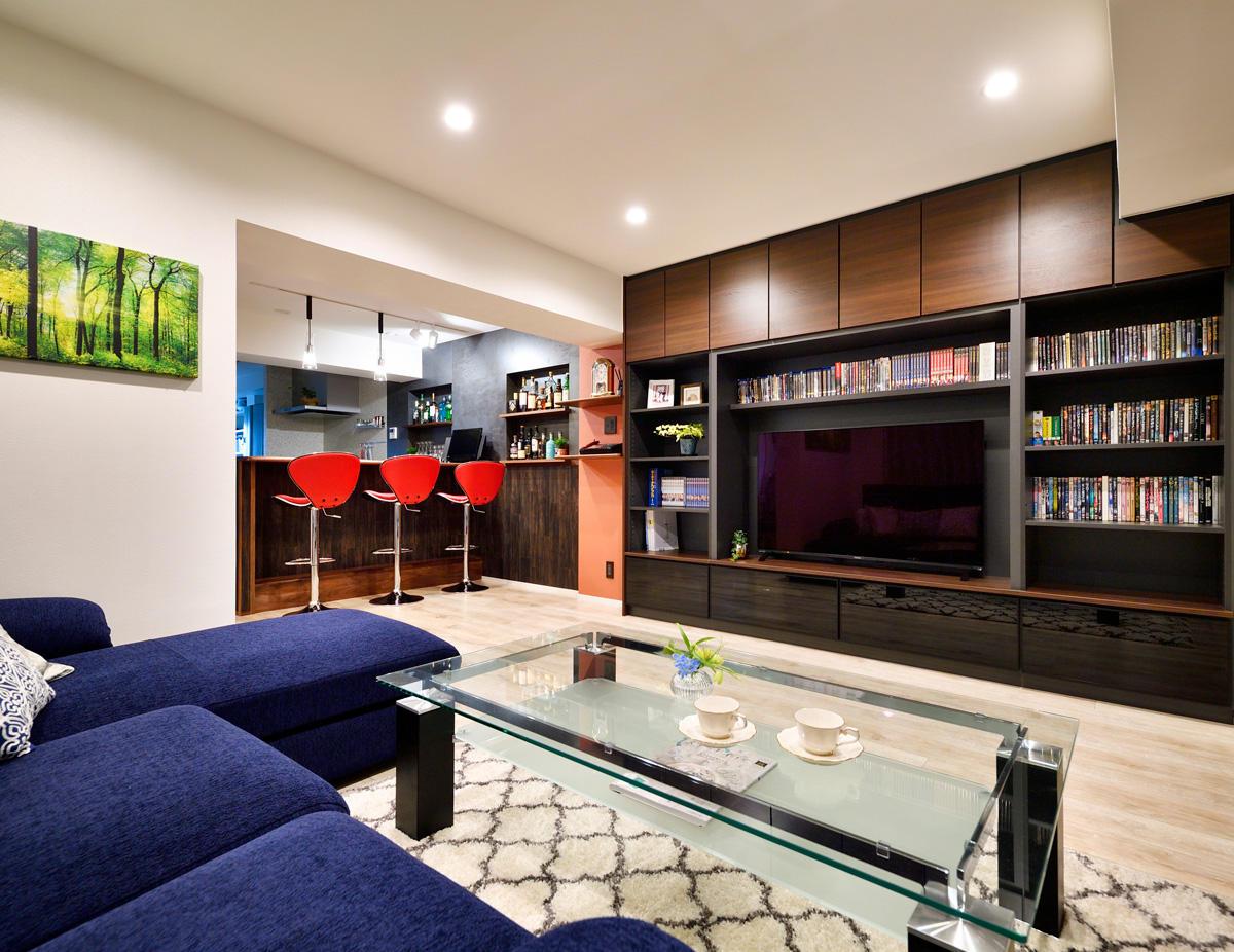 大人のスイートルーム。暮らす家から、楽しむ家へ。
